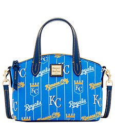 Dooney & Bourke Kansas City Royals Nylon Mini Crossbody Satchel