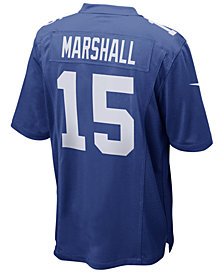 Nike Men's Brandon Marshall New York Giants Game Jersey