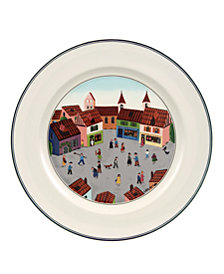 Villeroy & Boch Dinnerware, Design Naif Dinner Plate Old Village Square
