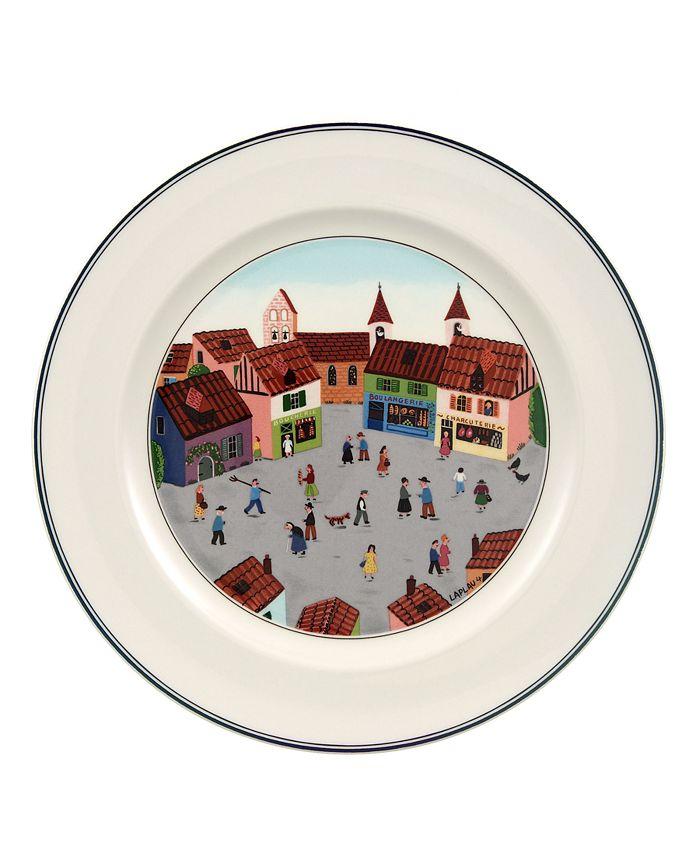 Villeroy & Boch - Dinnerware, Design Naif Old Village Square Dinner Plate