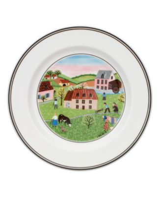 Dinnerware, Design Naif Bread and Butter Plate Spring Morning