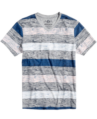 American Rag Men's Striped T-Shirt, Created for Macy's