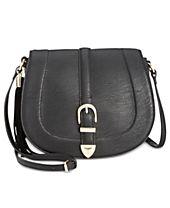 INC International Concepts Madelynn Belt Saddle Bag, Created for Macy's