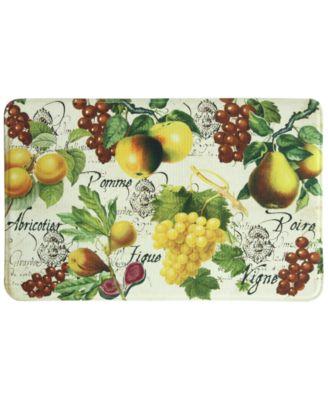 "Botanical Fruit 22"" x 35"" Accent Rug"