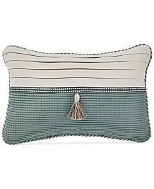 """Croscill Beckett 18"""" x 12"""" Boudoir Decorative Pillow"""