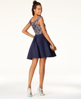 Glitter Lace Dress
