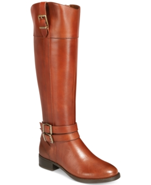 Image of I.n.c. Frankii Riding Boots, Created for Macy's Women's Shoes
