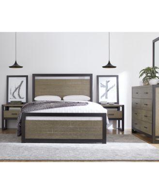 Amazing The Planked Look Wood Design And Rich, Contrasting Finish Of The Lexington  Bedroom Furniture Collection Offer Striking Style, Warmth And Comfort For  Your ...