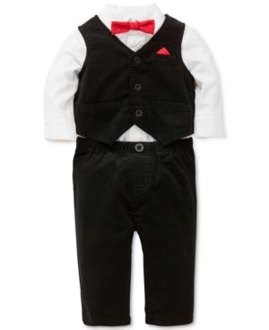 Little Me 3Pc Vest Shirt Bodysuit  Pants Set Baby Boys (024 months)