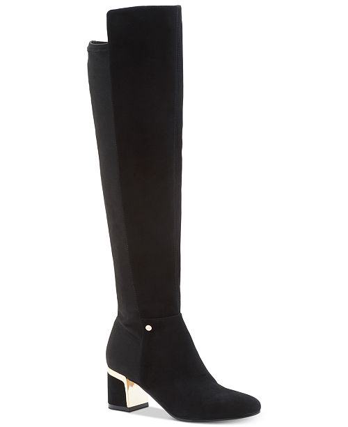 DKNY Cora Wide Calf Boots, Created For Macy's