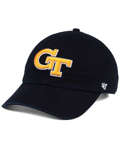 '47 Brand Georgia-Tech CLEAN UP Cap