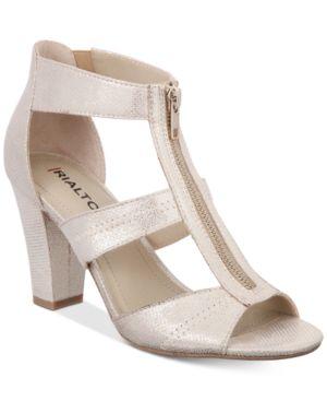 Rialto Ritz Block-Heel Dress Sandals Women
