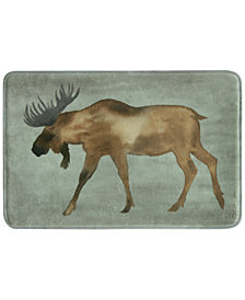 "Bacova Moose 20"" x 30"" Accent Rug"