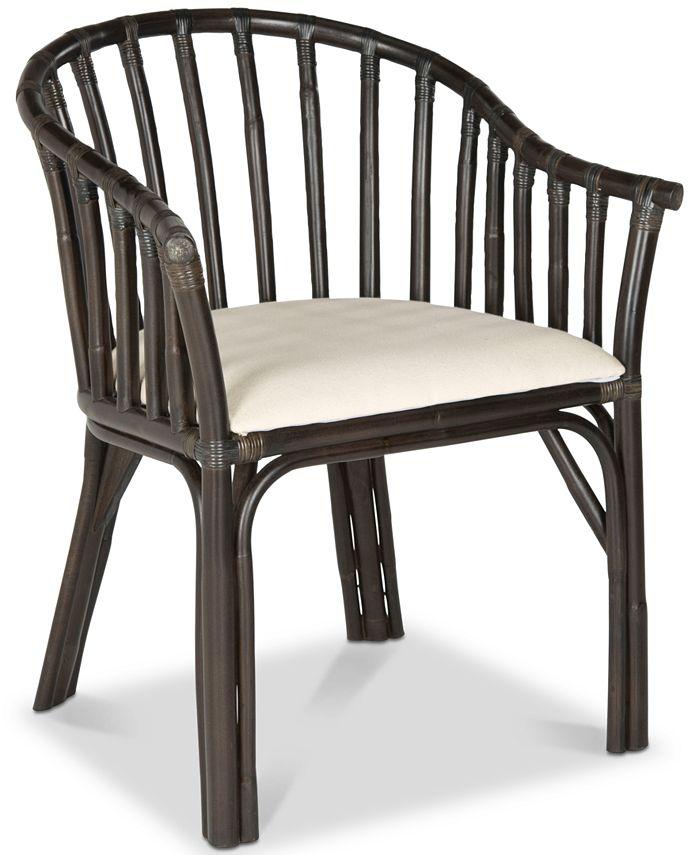Safavieh - Gino Arm Chair, Quick Ship