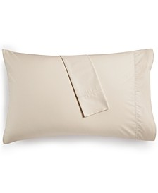 Standard Pillowcase pair, 400 Thread Count 100% Cotton Percale, Created for Macy's