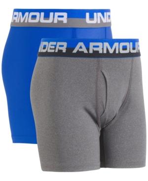 Under Armour 2Pk Boxer Briefs Little Boys  Big Boys