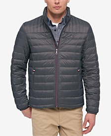 Men's Big & Tall Packable Down Puffer Coat