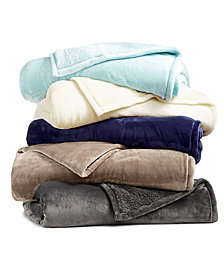 LAST ACT! Berkshire Blanket® Luxe Reversible Plush Blanket