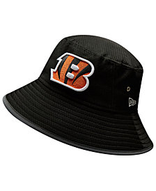 New Era Cincinnati Bengals Training Bucket Hat