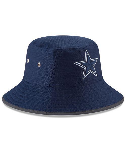 New Era Dallas Cowboys Training Bucket Hat - Sports Fan Shop By Lids ... a950aa5b8