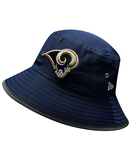 New Era Los Angeles Rams Training Bucket Hat - Sports Fan Shop By ... c7903ae9643