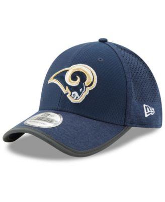 size 40 c95ce 4d757 New Era Los Angeles Rams Training 39THIRTY Cap