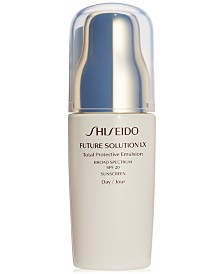 Shiseido Future Solution LX Total Protective Emulsion Broad Spectrum SPF 20 Sunscreen, 2.5-oz.