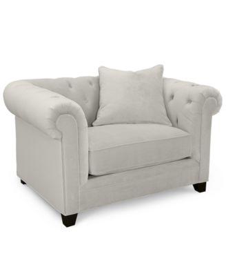Martha Stewart Collection Saybridge Sofa Created For Macy