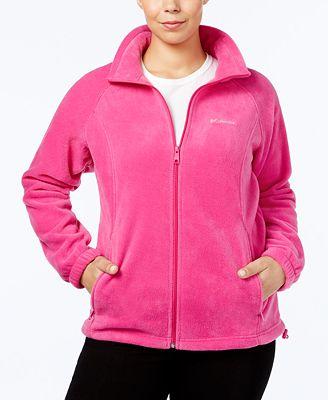Columbia Plus Size Benton Springs Fleece Jacket - Jackets ...