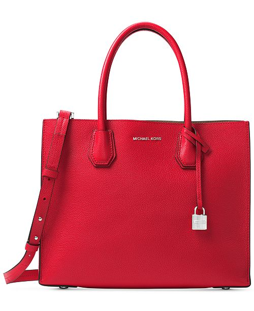 4b5bd63e16ff Michael Kors Mercer Large Tote   Reviews - Handbags   Accessories ...