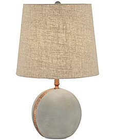 Pacific Coast Cement Ball Table Lamp