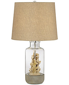 Pacific Coast Faux Coral Table Lamp