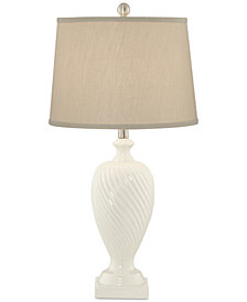 Pacific Coast Crackle Ceramic Table Lamp