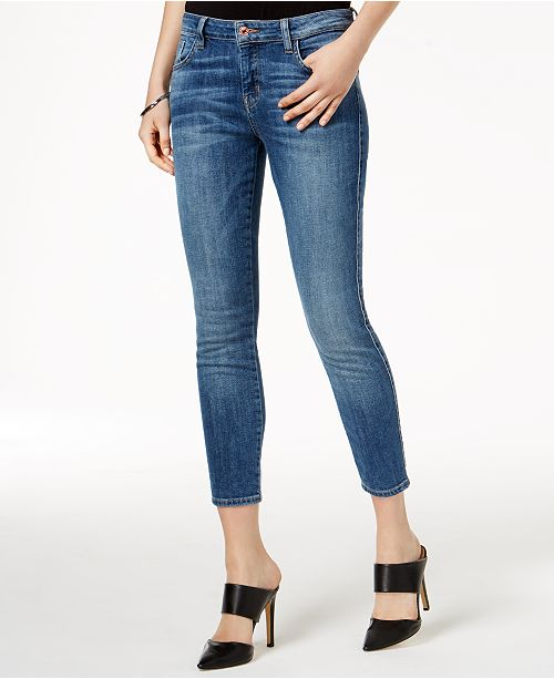 406e3673362bd GUESS Cropped Skinny Jeans   Reviews - Jeans - Women - Macy s