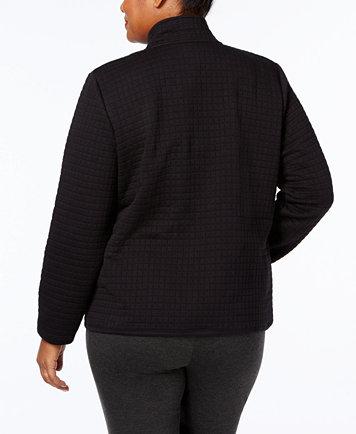 Karen Scott Plus Size Quilted Jacket, Created for Macy's - Jackets ... : quilted jacket plus size - Adamdwight.com