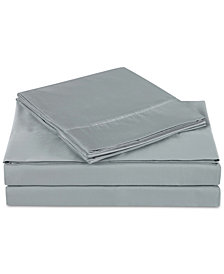 Charisma Luxe Cotton Sateen 510 Thread Count 4-Pc. Solid California King Sheet Set