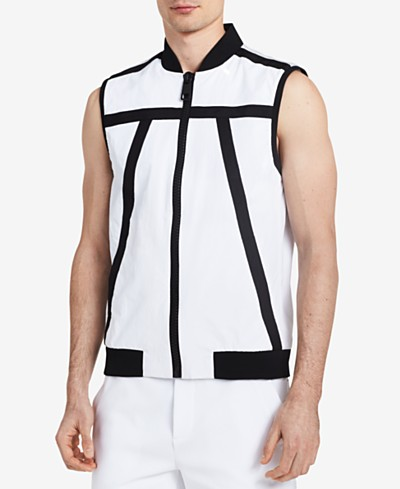 Calvin Klein Men's Tape-Trim Lab Vest