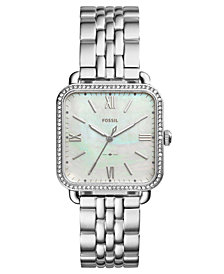 Fossil Women's Micah Stainless Steel Bracelet Watch 32x32mm