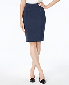 Ponte Pencil Skirt, Created for Macy's