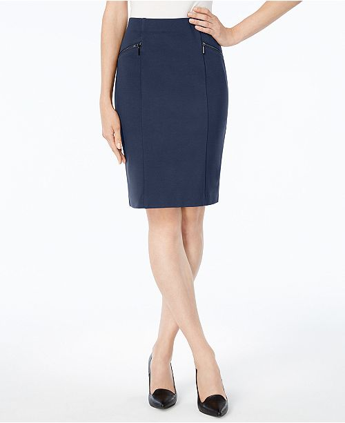 c02bf64474 Alfani Ponte Pencil Skirt, Created for Macy's & Reviews - Skirts ...