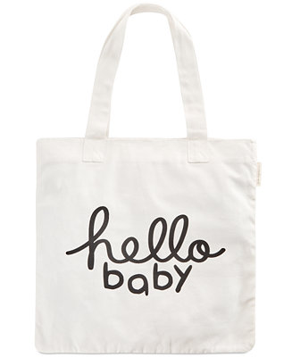 ad0317568e13 First Impressions Hello Baby Cotton Tote Bag
