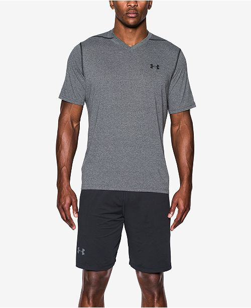 Under Armour Men's V-Neck Threadborne Ultra-Soft T-Shirt