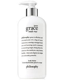 philosophy Pure Grace Nude Rose Body Lotion, 16-oz.