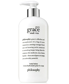 philosophy Pure Grace Nude Rose Body Lotion, 16-oz.