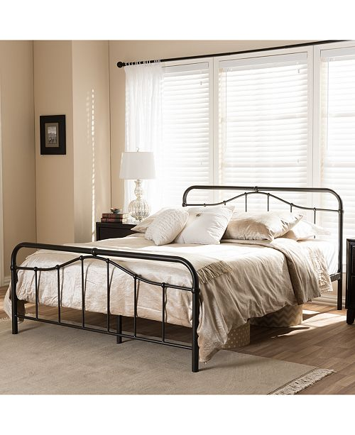 Furniture Upton Platform Bed Collection, Quick Ship