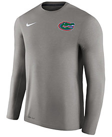 Nike Men's Florida Gators Dri-Fit Touch Longsleeve T-Shirt
