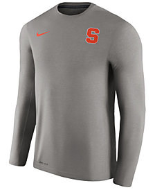 Nike Men's Syracuse Orange Dri-Fit Touch Longsleeve T-Shirt