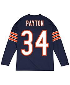 Men's Walter Payton Chicago Bears Retro Player Name & Numer Longsleeve T-Shirt