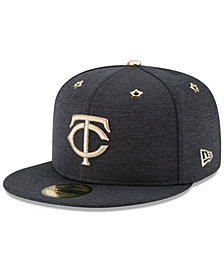 New Era Boys' Minnesota Twins 2017 All Star Game Patch 59FIFTY Fitted Cap