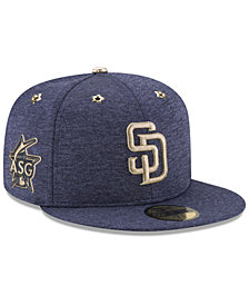 New Era Boys' San Diego Padres 2017 All Star Game Patch 59FIFTY Fitted Cap
